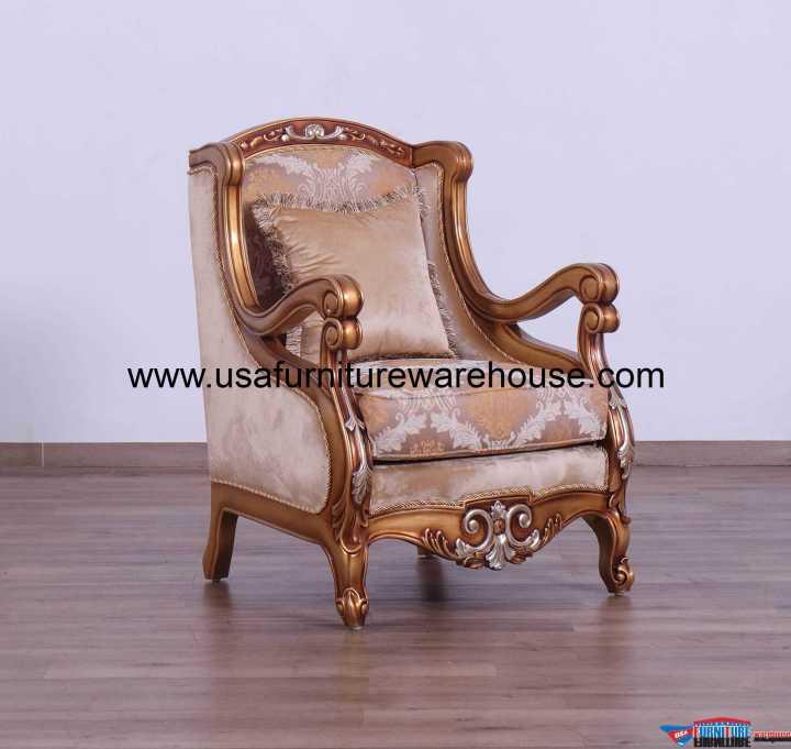 Raffaello II Brown Chair