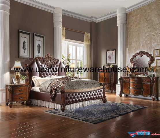 4 Piece Acme Vendome II Bedroom Set