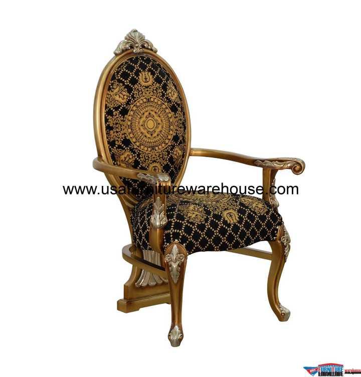 European Furniture Emperador Dining Arm Chair