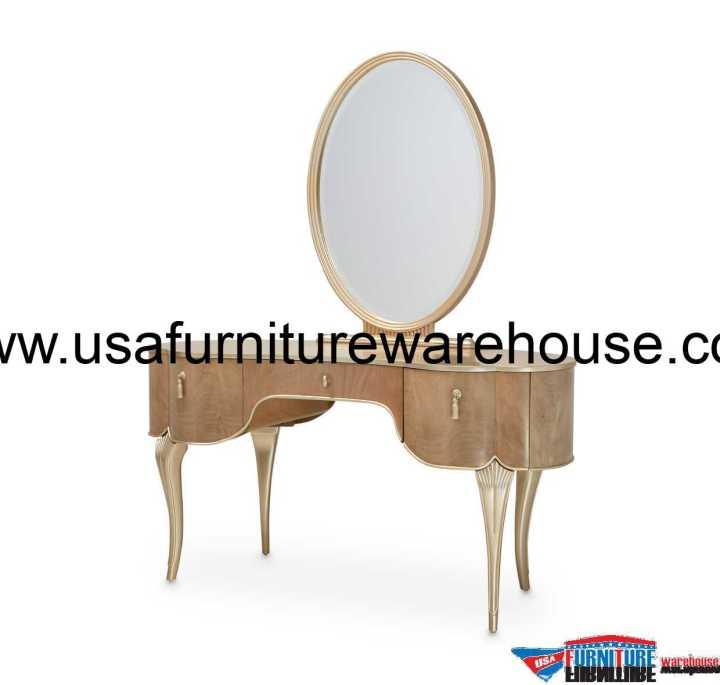 Aico Villa Cherie Vanity With Mirror