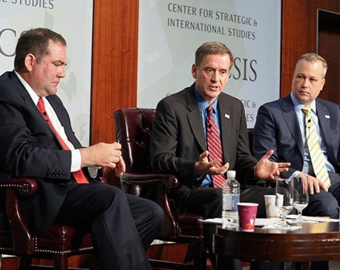 Photo: USAID Administrator Mark Green Delivering Opening Remarks on the Policy Framework at CSIS' Global Development Forum