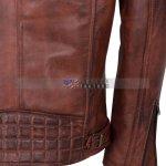Brando Men Motorcycle Leather Jacket