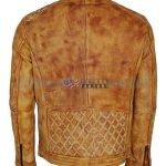 Mens-Camel-Color-Vintage-Waxed-Designer-Leather-Jacket-Nappa-leder-jacke-