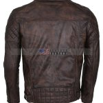 Mens-Vintage-Dark-Brown-Waxed-Italian-Style-Leather-Jacket-High-Quality-