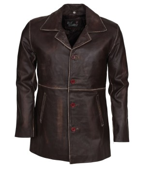Supernatural Dean Winchester Distressed Brown Jacket