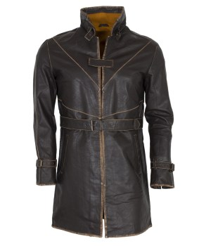 Watch Dogs Genuine Leather Coat