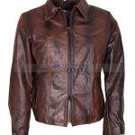 Antique Brown Mens Vintage Racer Leather Jacket Sale Buy now
