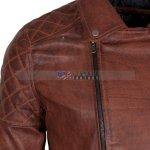 Designers Men Brando Brown Motorcycle Leather Jacket Buy NOW
