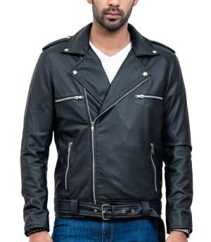 Negan Real Cowhide Motorcycle Leather Jacket