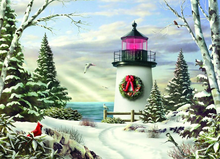 Nautical Christmas Cards From Maine