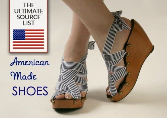 The ultimate list of every brand still making shoes in the USA.