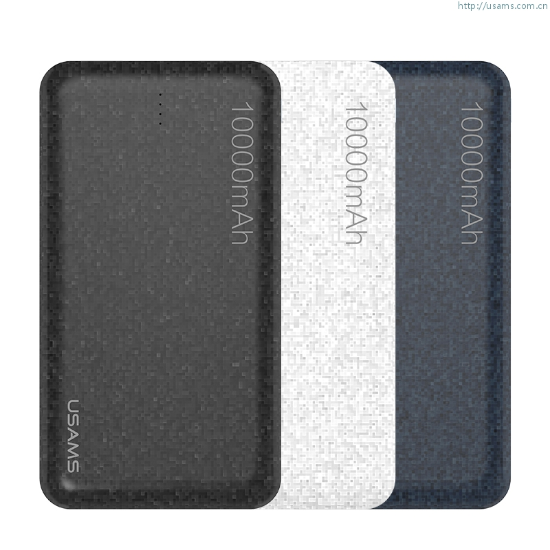 US-CD21 10000mAh Power Bank Mosaic Series Power Bank Quick Charge Fast Charging For Mobile Phones