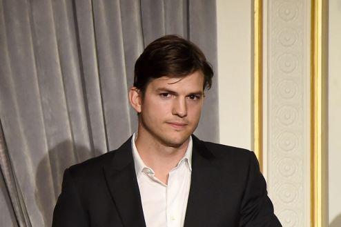 Ashton Kutcher Family