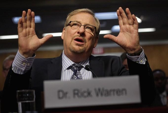 Rick Warren Net Worth 2020