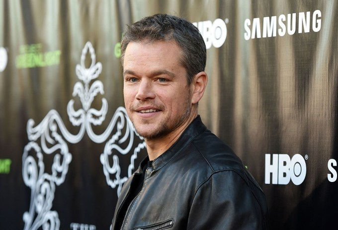 Matt Damon Net Worth 2020