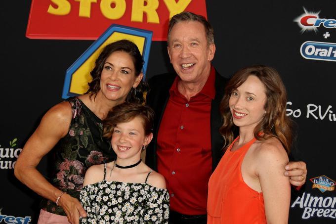 Tim Allen Family