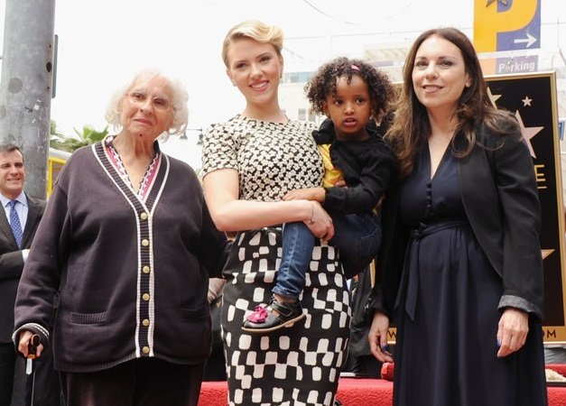 Scarlett Johansson Family