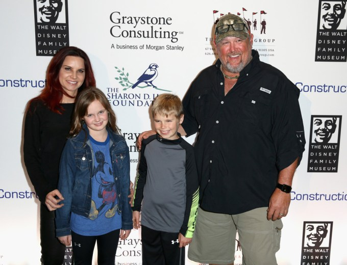 Larry The Cable Guy Family