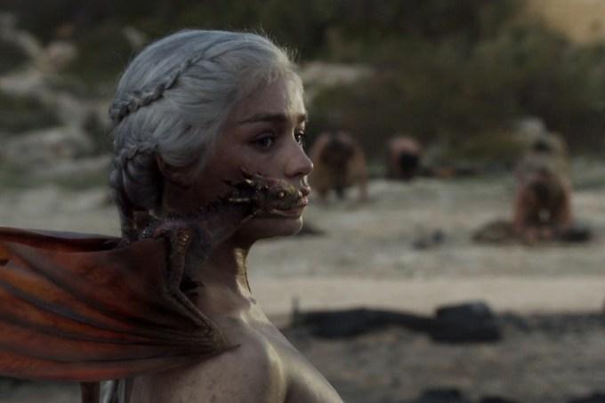 Emilia Clarke Scenes