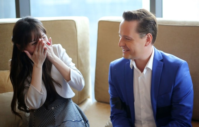 Vitas with wife