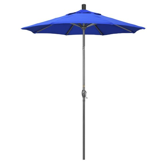 california umbrella pacific trail 6 small patio table umbrella