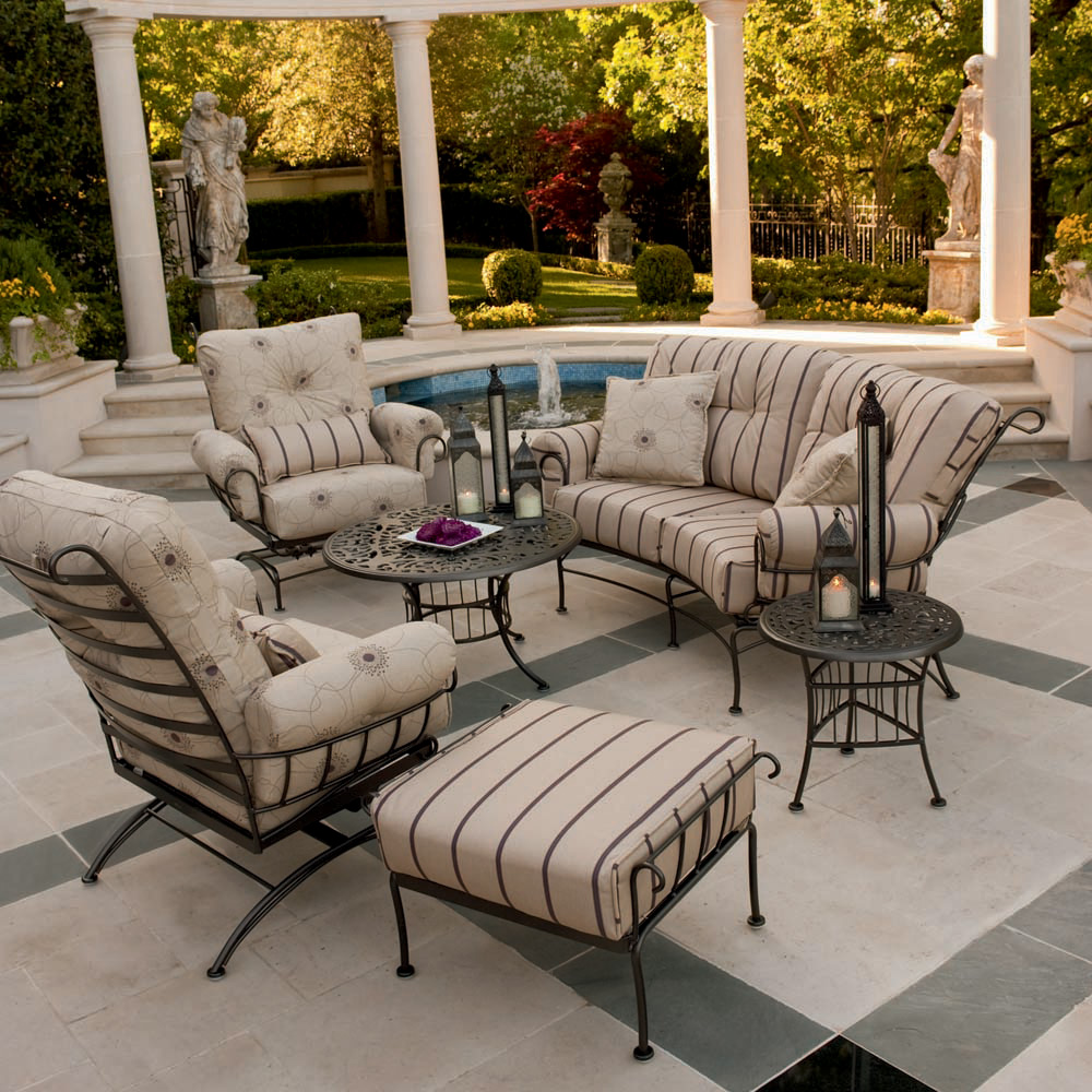 piece patio furniture set