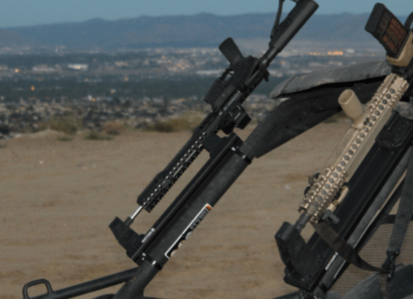 fast access tactical gun mounting and