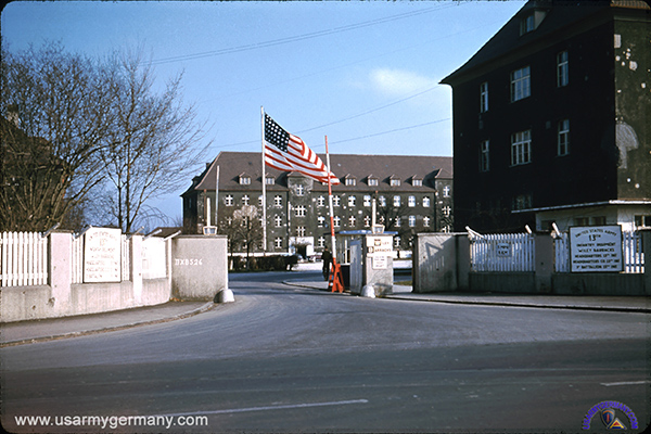 Barracks Barton Ansbach Germany