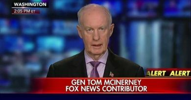 General Thomas McInerney Accused Clinton And Obama For Violating The Espionage Act