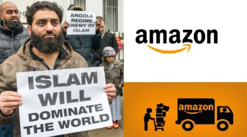 """mazon muslim Amazon may have issued a """"declaration of support"""" in january for a lawsuit against president trump's order to put a temporary halt to immigration from seven muslim-majority countries, but that hasn't stopped outraged muslims from planning a may 1 demonstration at the front door of the."""