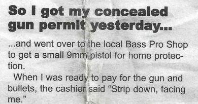 Man Goes To Buy A Gun