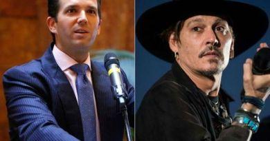 Donald Trump Jr. Wants Johnny Depp Fired
