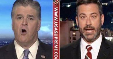 "Head Shot! Sean Hannity Destroys Jimmy Kimmel On Live TV… ""You Are Pretty Creepy…"" (VIDEO)"