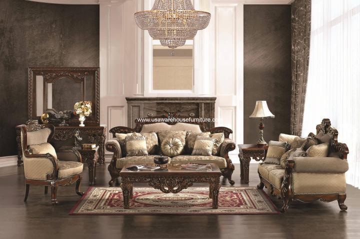 HD-296 Homey Design Sofa Set