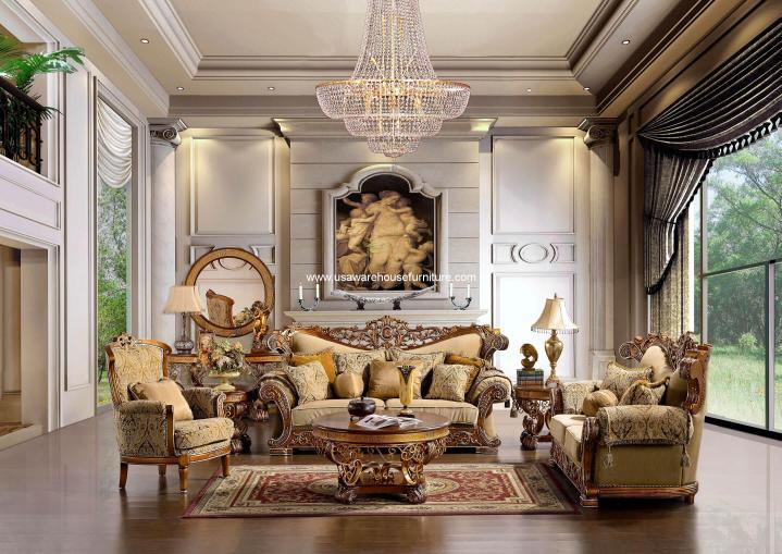 Homey Design HD-369 Living Set