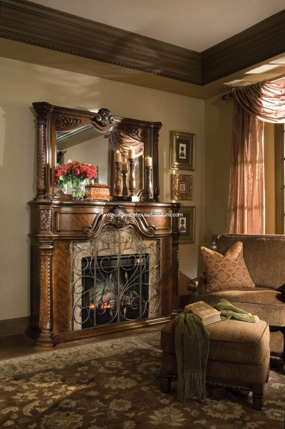Windsor Court Fireplace And Mirror