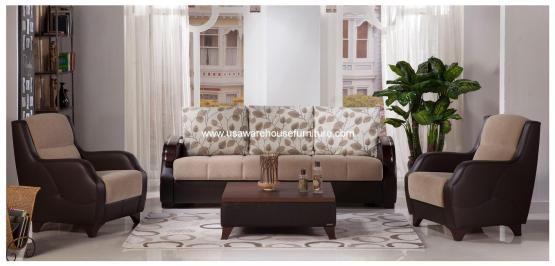 Demka Costa Sofa Bed Armoni Vizon