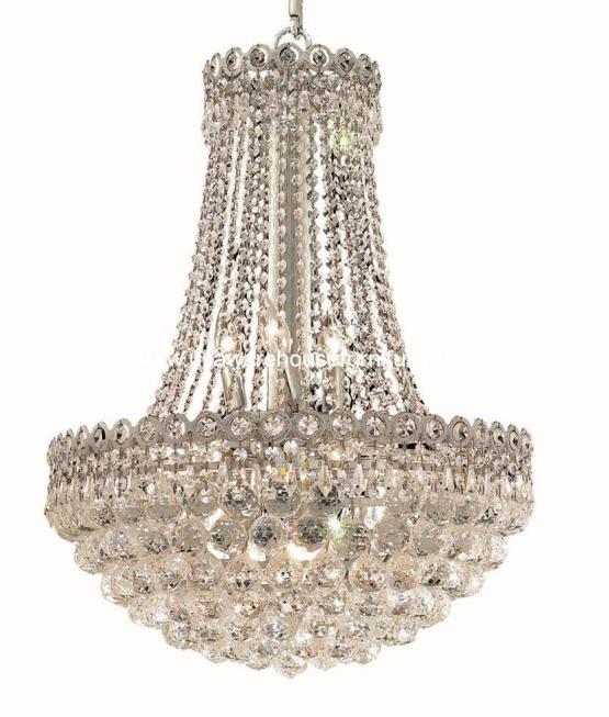 12 Lights Crystal Chandelier