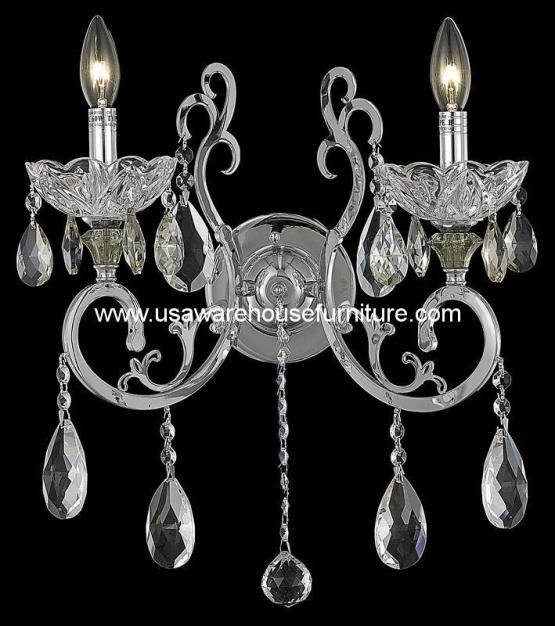 2 Lights Wall Sconce 2830 Aria Collection