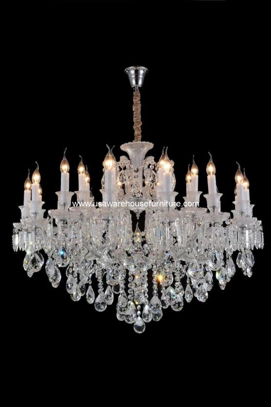 Michael Amini 19 Light Chambord Chandelier