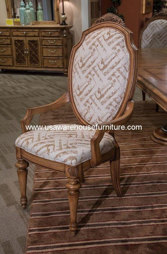 Michael Amini Excursions Dining Arm Chair