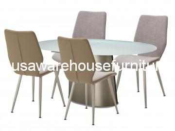 Trance Halsted Oval Extendable Dining Set