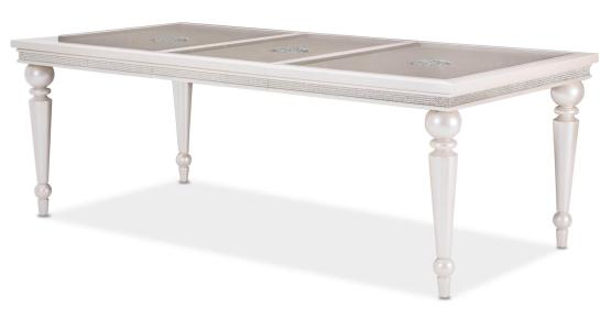 Glimmering Heights 4 Leg Extendable Dining Table