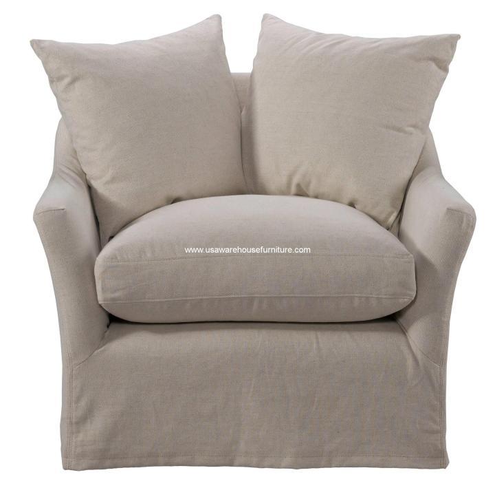 Anniston Chair Light Linen