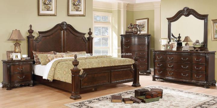 4 Piece Hesperos Bedroom Set