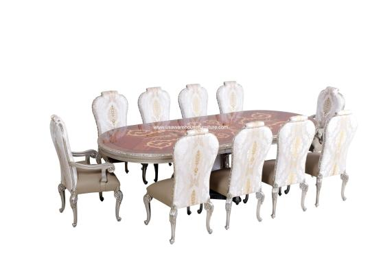 11 Piece Bellagio Dining Set