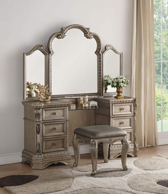 3 Piece Northville Vanity With Stool