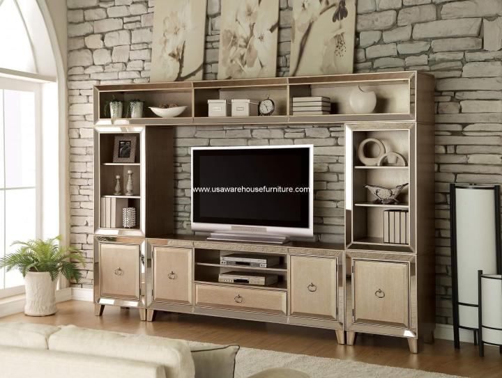 Voeville Entertainment Wall Center