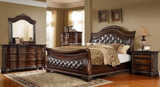Merida Sleigh Bedroom Set