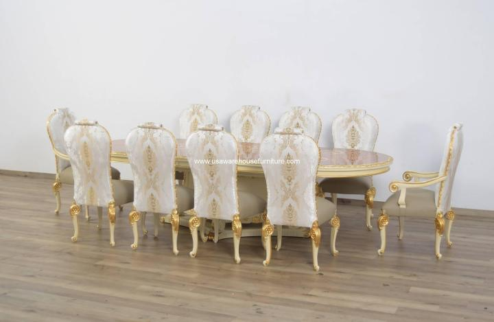 11 Pieces Bellagio Extendable Dining Set